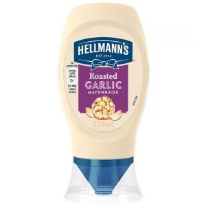Hellmann's Garlic Squeezy Mayonnaise 250ml