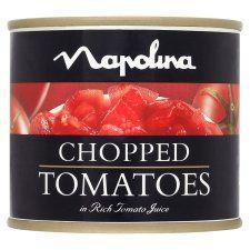 Napolina Chopped Tomatoes 227g