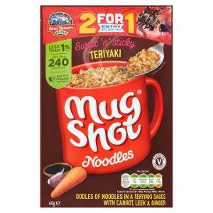 Mug Shot Teriyaki Noodles 60g