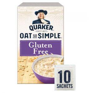 Quaker Oat So Simple Gluten Free Original Porridge 10 Pack 350g