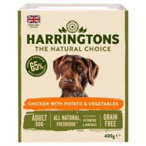 Harringtons Grain Free Chicken & Vegetable Adult Dog 400g