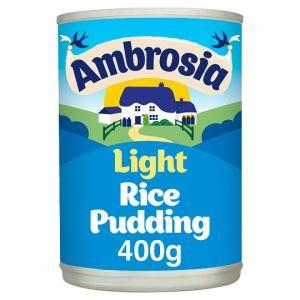 Ambrosia Low Fat Rice Pudding 400g