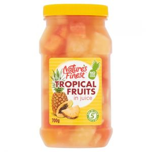 Nature's Finest Tropical Fruits In Juice 700g
