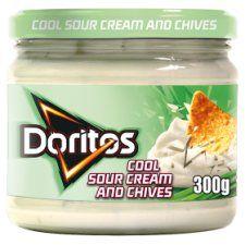 Doritos Sour Cream & Chive Dip 300g