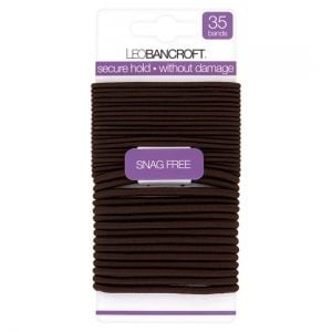 Leo Bancroft Assorted Bands Brown 35 Pack