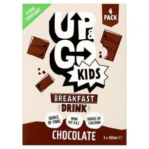 Up and Go Kids Chocolate Drink 4 X 180ml