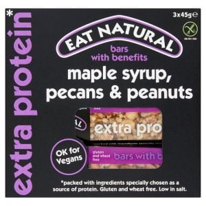 Eat Natural Bars Maple Syrup Pecan & Peanut 45g