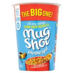 Mug Shot Chow Mein Noodles 85g