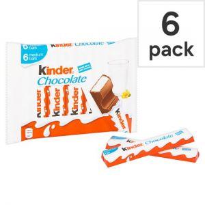 Kinder Snack Bars 6 Pack 126g