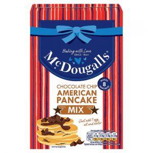 Mcdougalls Chocolate Chip American Pancake Mix 192g