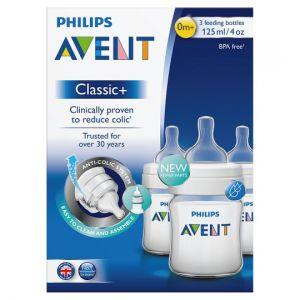 Avent Feeding Bottle 125ml X3