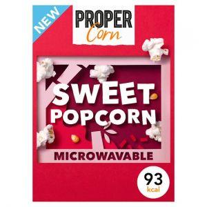 Propercorn Sweet Microwave Popcorn 3 x 70g