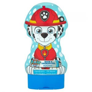 Paw Patrol Shaped Bath and Shower Gel 400ml