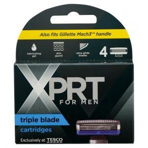 Xprt. For Men 3 Blade Refills 4 Pack