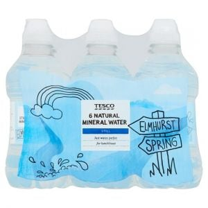 Tesco Still Mineral Water 6 x 330ml