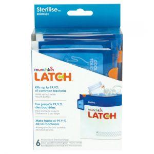 Lindam Latch Steriliser Bags 6 Pack