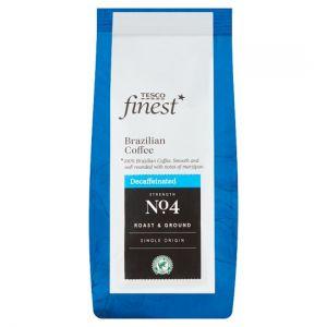 Tesco Finest Brazillian Decaffeinated Coffee 227g