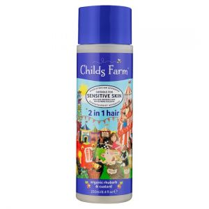 Childs Farm 2 In 1 Shampoo Conditioner Rhubarb 250ml