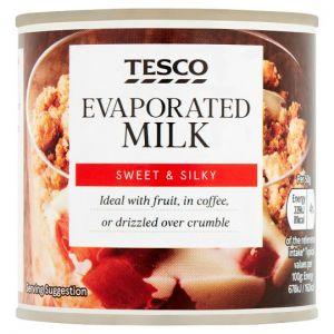 Tesco Evaporated Milk 170g