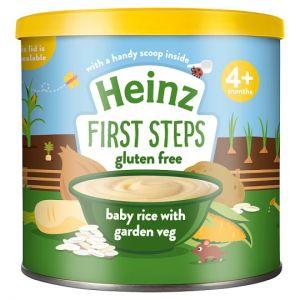 Heinz First Steps Baby Rice Garden Vegetable 200g