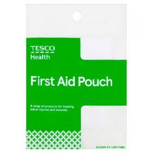 Tesco Health Pouch First Aid Kit