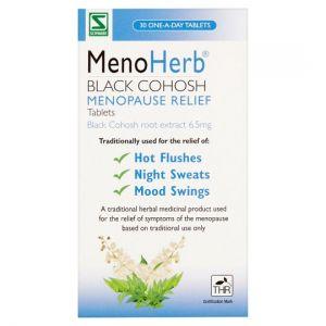 Menoherb Black Cohosh Menopause Relief 30 Tablets