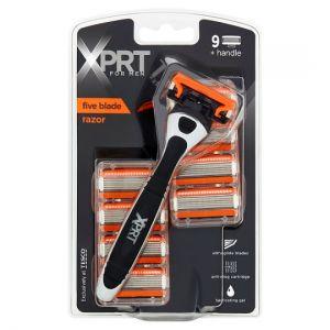 Xprt For Men Five Blade Razor Plus 9 Blades