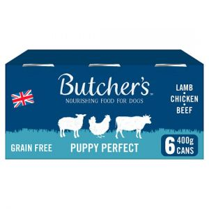 Butchers Puppy Perfect Puppy Food Tins 6X400g