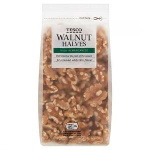 Tesco Walnut Halves 250g