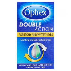 Optrex Double Action Itchy Drops 10ml