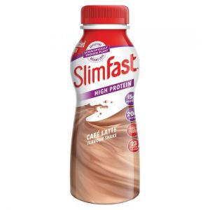 Slim-Fast Bottle Milkshake Cafe Latte 325ml