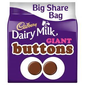 Cadbury Dairy Milk Giant Buttons 240g