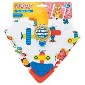Nuby Bubble Bandana Teether 2 Pack