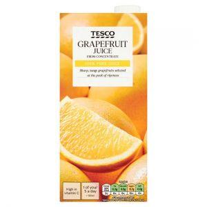 Tesco Grapefruit Juice 1 Litre