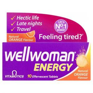 Wellwoman Energy Orange Tablets X10