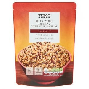 Tesco Red & White Quinoa & Bulgar Wheat 250g