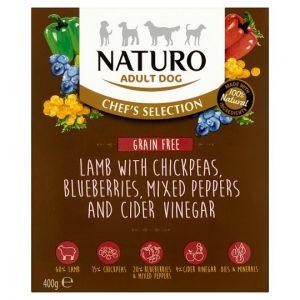 Naturo Grain Free Lamb Adult Dog Food 400g