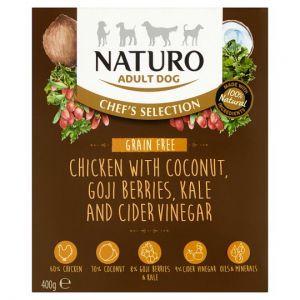Naturo Grain Free Chicken Adult Dog Food 400g