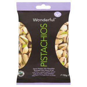 Wonderful Pistachios Salt and Pepper 115g