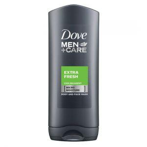Dove Men+Care Extra Fresh Face & Body Wash 400ml