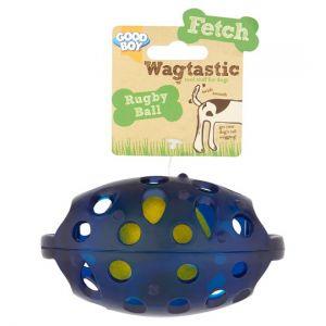 Good Boy Rugby Ball Dog Toy