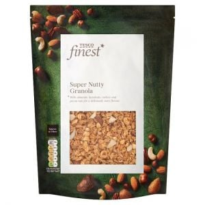 Tesco Finest Super Nutty Granola 500g