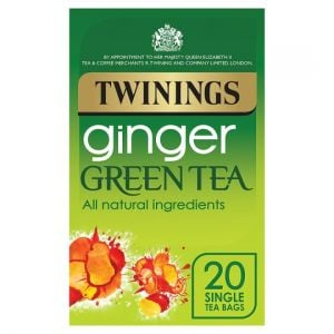 Twinings Green Tea Ginger 20 Tea Bags 40g