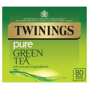 Twinings Green Tea 80 Tea Bags 200g
