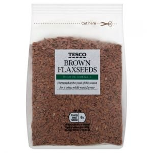 Tesco Brown Flaxseeds 250g