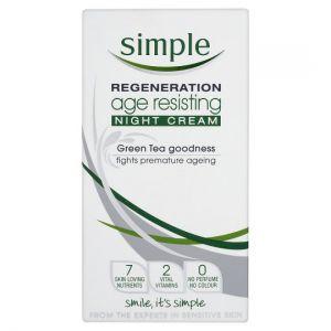 Simple Age Resisting Night Cream 50ml