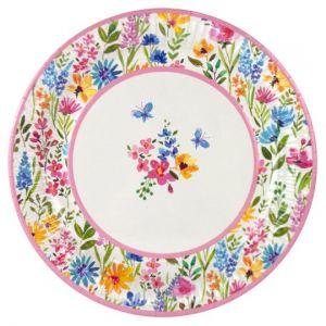 Meadow Plate 23cm 8 Pack