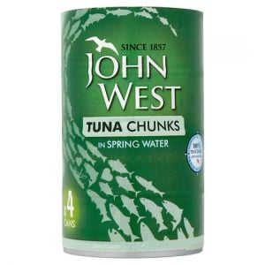John West Tuna Chunks Spring Water 4X145g