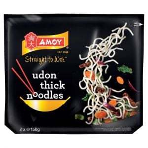Amoy Udon Thick Noodles 2X150g