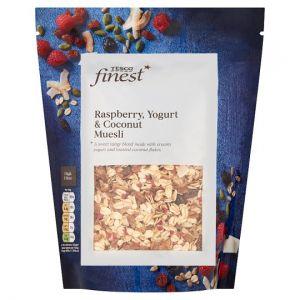 Tesco Finest Raspberry Yogurt and Coconut Muesli 500g